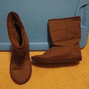 Laila Rowe Lightweight Brown Boots